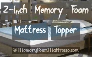 2-inch Memory Foam Mattress Topper Review