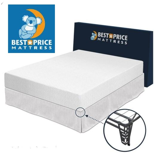 Best Price Mattress 10 inch Memory Foam Mattress Review