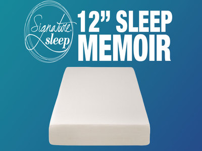 Signature Sleep Memoir 12 Inch Memory Foam Mattress Review