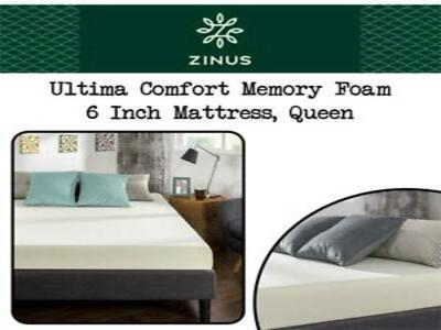 Zinus Ultima Comfort 6 Inch Memory Foam Review