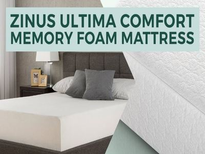 Zinus Ultima Comfort Memory Foam 8 inch Mattress Review
